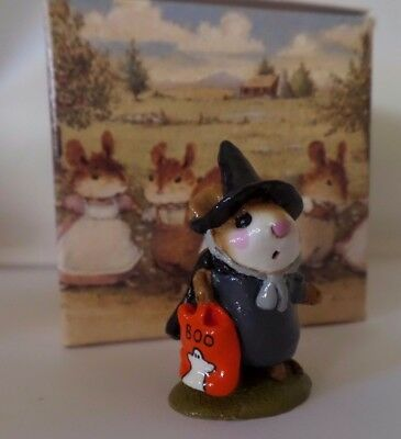 Wee Forest Folk, Littlest Witch, M-156, Mint Condition W/Box