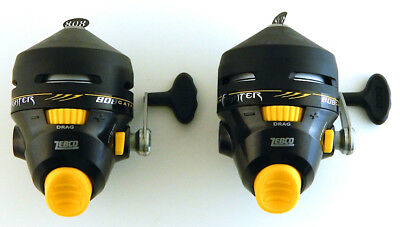 *(Lot Of 2) Zebco 808 Catfish Fighter 808Hcf Spincast Reel Bulk