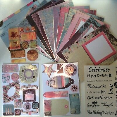 Creative Memories OCCASIONS CARD KIT includes EPOXY STICKERS & TITLE STICKERS