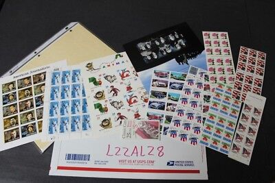 CKStamps : Lovely Mint US Sheets & Booklets Stamps Collection ( Face Value $74