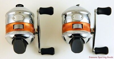 *(Lot Of 2) Zebco Bill Dance Series Ds733 Spincasting Reel Bulk