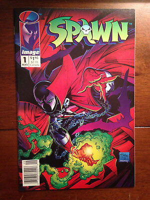 Spawn # 1 Near Mint Newsstand Edition Todd Mcfarlane Image Comics Hard To Find