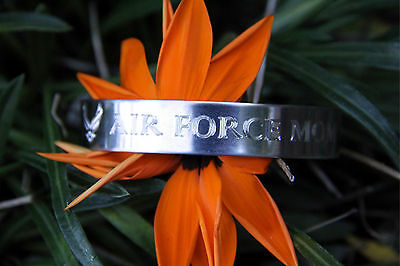 Made In Us Air Force Proud Mom Bracelet Son Daughter Pin Up Graduation Gift  Wow