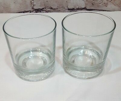 Gentleman Jack Lowball Rocks Glass Set of 2 GJ