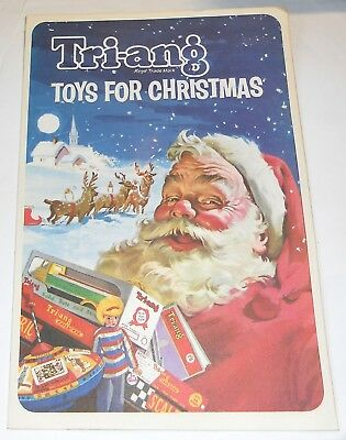 Triang Christmas Toy Catalogue 1964 (10-Page Fold-Out)