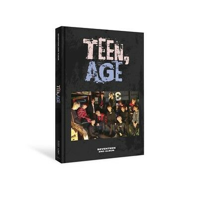 SEVENTEEN - TEEN, AGE [RS ver.] CD+Photocard+Sticker+2 Poster+Free Gift