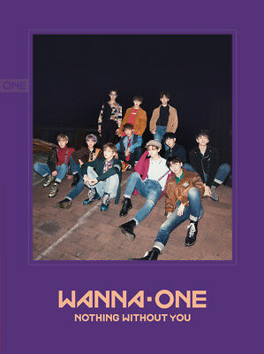 WANNA ONE - 1-1=0 Nothing With You [WANNA ver.] CD+Photobook+Poster+Free Gift