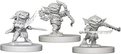 Goblins - Dungeons & Dragons Pathfinder Primed Unpainted 25Mm Minis