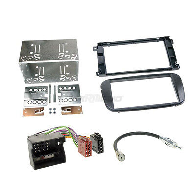 Ford Focus 08-10 2-DIN Radio Set Câble Adaptateur Radioblende
