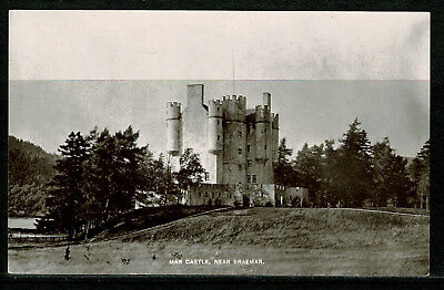 Early Real Photo Postcard - Mar Castle near Braemar Aberdeenshire Scotland