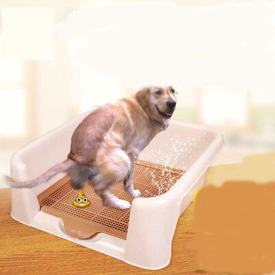 E21 Pet Toiletries Portable Dog Toilet Tray Litter Box Scoop Carrier Hooded