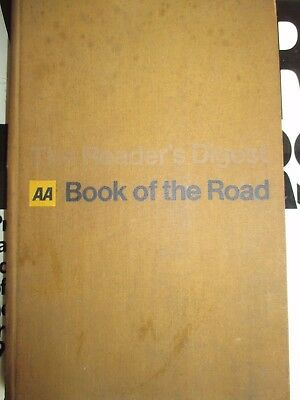 The Reader's Digest AA Book Of The Road -  1966 - with fold out maps