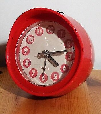 Kultiger space design pop art Quarz Wecker Uhr 80er - alarm clock  ~ 80's