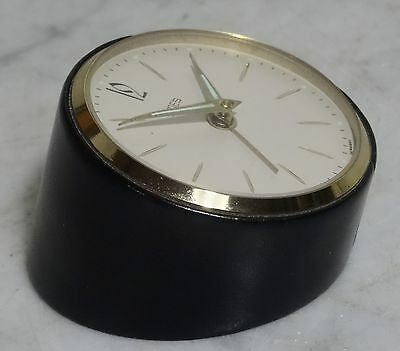 Mechanischer Wecker Tischuhr Uhr EMES made in Germany vintage alarm clock ~60er