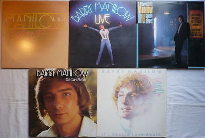 BARRY MANILOW - SAMMLUNG - 6 LPs > Magic; Swing St.; Live; This one's...; If I..