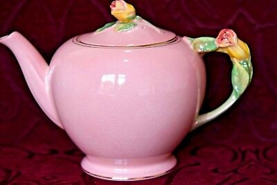 Royal Winton  - Large Teapot - Pink Rosebud