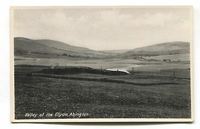 Abington, Lanarkshire - Valley of the Clyde - old postcard