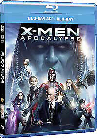 X-Men - Apocalisse  Real 3D   Blu-Ray    Azione