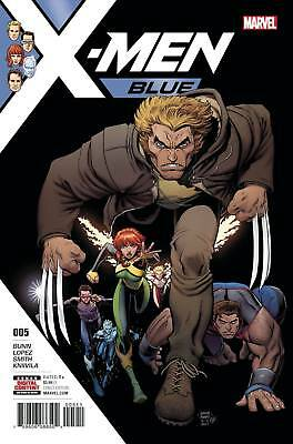 X-Men Blue #5 (Marvel 2017) Near Mint First Print Bagged And Boarded