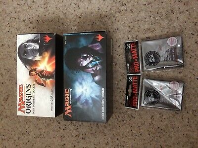Magic Origins And Magic The Gatherings Deck Builder Toolkit And 2 Sleeves