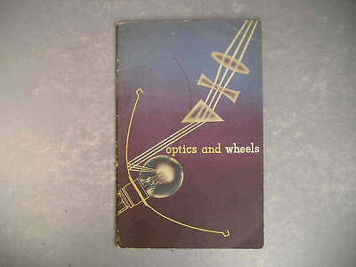 Optics And Wheels Headlight General Motors 1940 Vintage