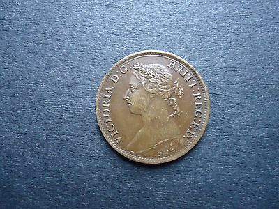 GB 1884 Victoria Farthing coin