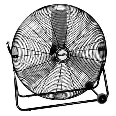 "Air King 9230 30"" 7400 CFM 3-Speed Industrial Grade Floor Fan"