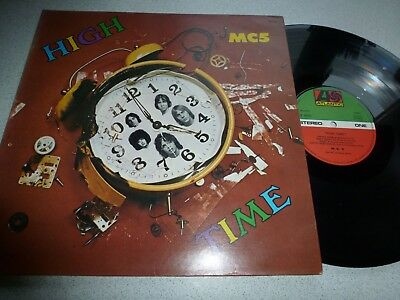 Mc5..high Time..superb Rare French Issue Atlantic Label 40223