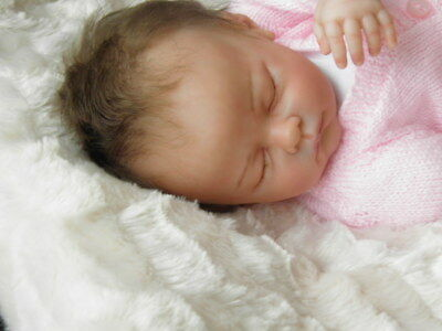 Lifelike Reborn Baby Girl created by an Established Reborn Artist