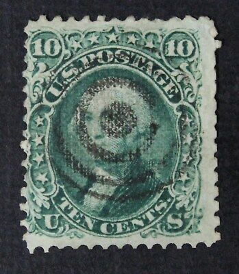 CKStamps: US Stamps Collection Scott#89 10c Washington Used Lightly Crease $350