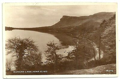 Ireland Co Sligo postcard Glencar Lake near Sligo