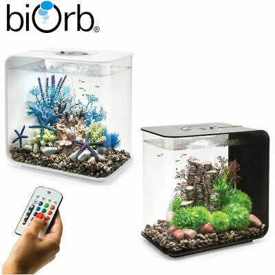 Oase BiOrb Flow 30 Aquarium Fish Tank MCR LED Light Filter Black White 30L