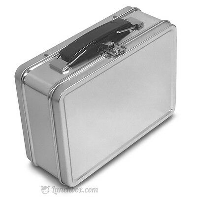 Small Plain Metal Lunch Box - XS Snack Lunchbox