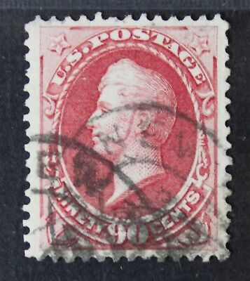 CKStamps: US Stamps Collection Scott#144 90c Perry Used CV$2500