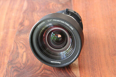 Panasonic ET-DLE050 ETDLE050 Wide Angle Fixed Focus Short Throw Lens 0.80:1
