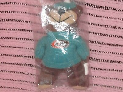 "A&W ROOT BEER BEAR IN GREET OUTFIT 6"" BEANBAG PLUSH 1998 A&W RESTAURANT Mascot"