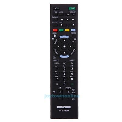 Replacement Remote Control for SONY TV RM-ED052 RM-ED060 RM-ED046 RM-ED044 Black