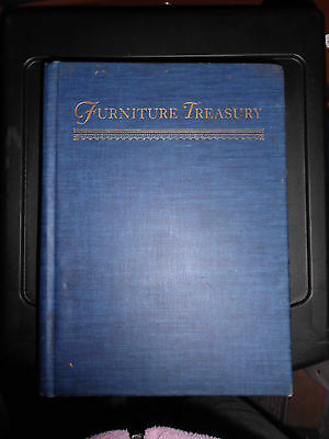 VTG Wallace Nutting Furniture Treasury 2 Two Volumes in One 1 1954 Hardcover HC