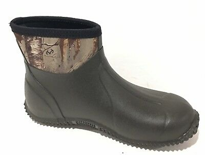 Mens Size 9 Rubber And Camo Muck Style Boot Brand New
