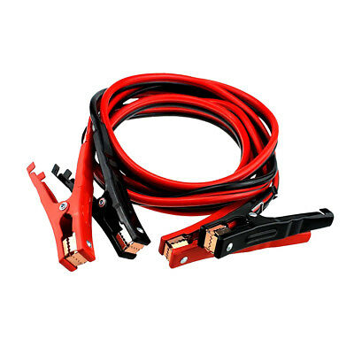 Heavy Duty Car Battery Booster Jumper Cable 500-amp 15-Feet 10-Guage W/Pouch