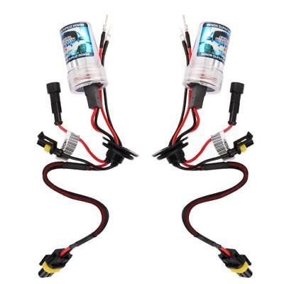 2x HID Xenon Car Auto Headlight Light Lamp Bulb H8/H9/H11 6000K 12V 55W