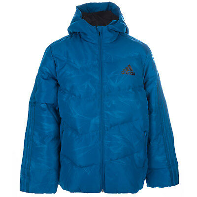 Junior Boys adidas Down Jacket In Blue From Get The Label