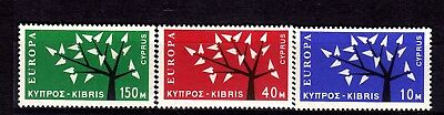 Cyprus Stamps, Europa Cept, 1963 Year #215-217 Mh , Cv 180 Euro