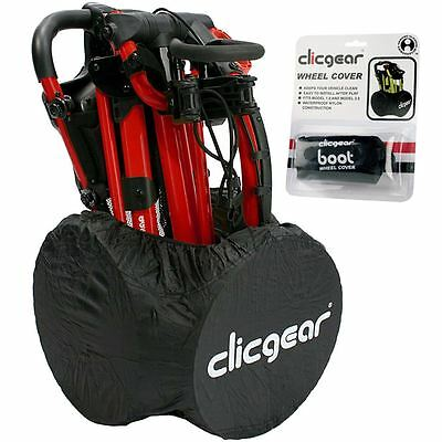 Clicgear 2017 Golf Trolley Waterproof Wheel Cover Mens Golf Accessories