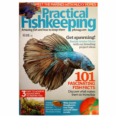 Practical Fishkeeping Magazine Dec 2017 Issue 13 Marine Guide PFK Tropical Fish