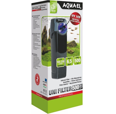 Aquael Unifilter UV 500 Aquarium Innenfilter Filter Aquariumfilter UVfilter UV-C