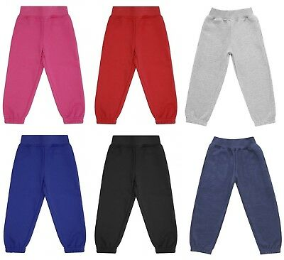 Kids Baby Toddler Boy/Girl Fleece Lined Thick Warm Joggers Jogging Bottoms Pants
