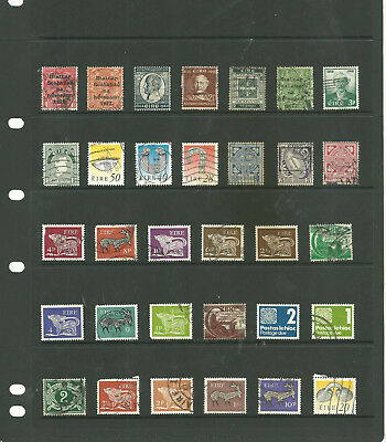 Eire 4 stock sheets mix collection stamps for the collector