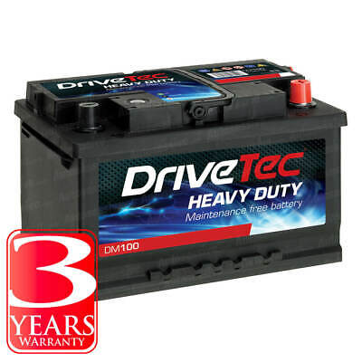 110 Titanium Sealed Car Battery 12V 640CCA