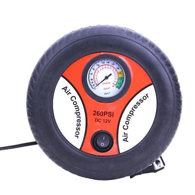 DC12V Portable Air Compressor Tire Auto Pump Inflator Pump Inflator Electric Car